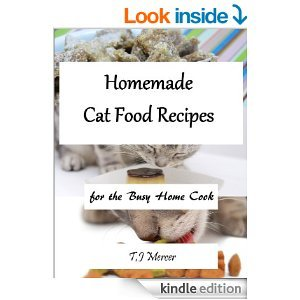cat food recipe ebook