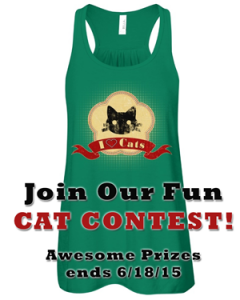 I love cats tee contest